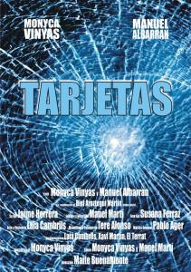 cartell Tarjetas vidre baixa
